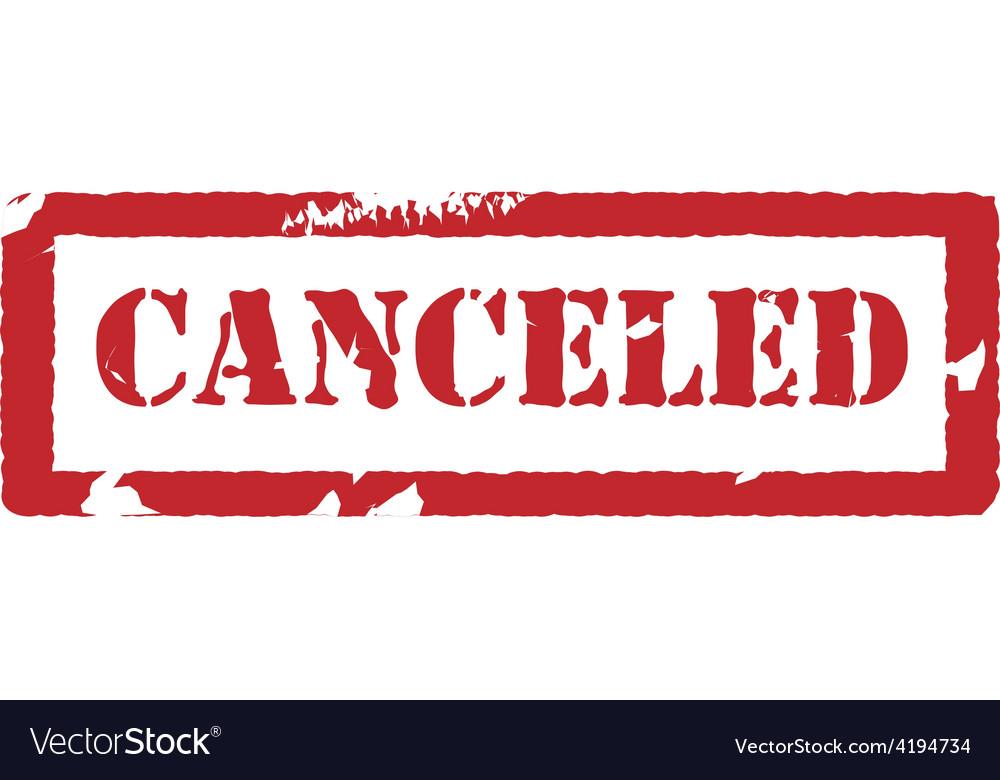 canceled stamp vector hr uniri